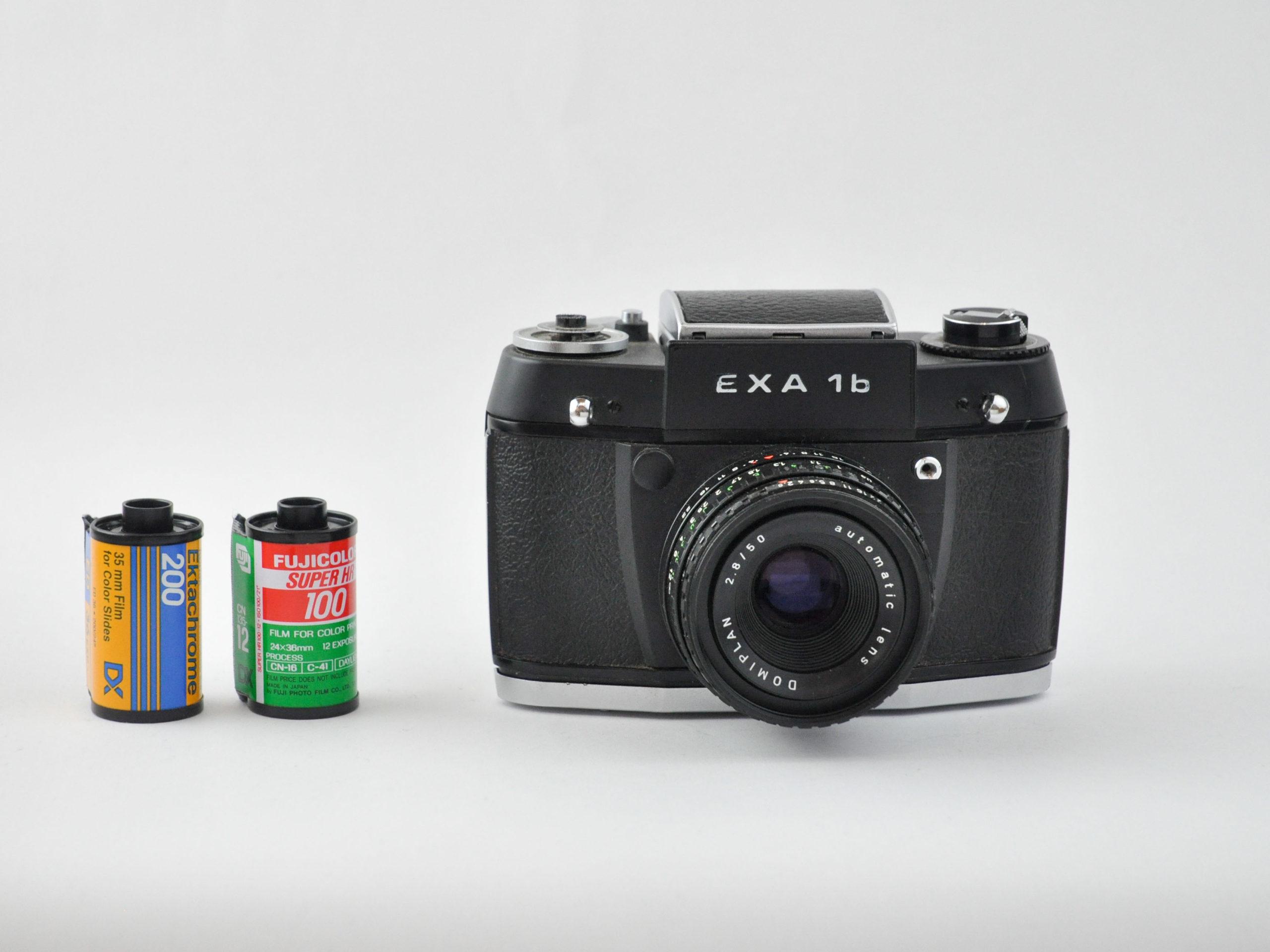 Exakta 1b(ブラック) + Domiplan 50mm f2.8