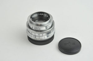 Carl zeiss Tessar 50mm f2.8(キネエクザクタ用)