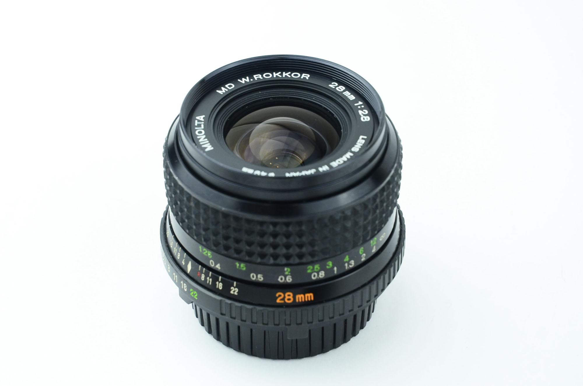 MD ROKKOR 28mm f2.8