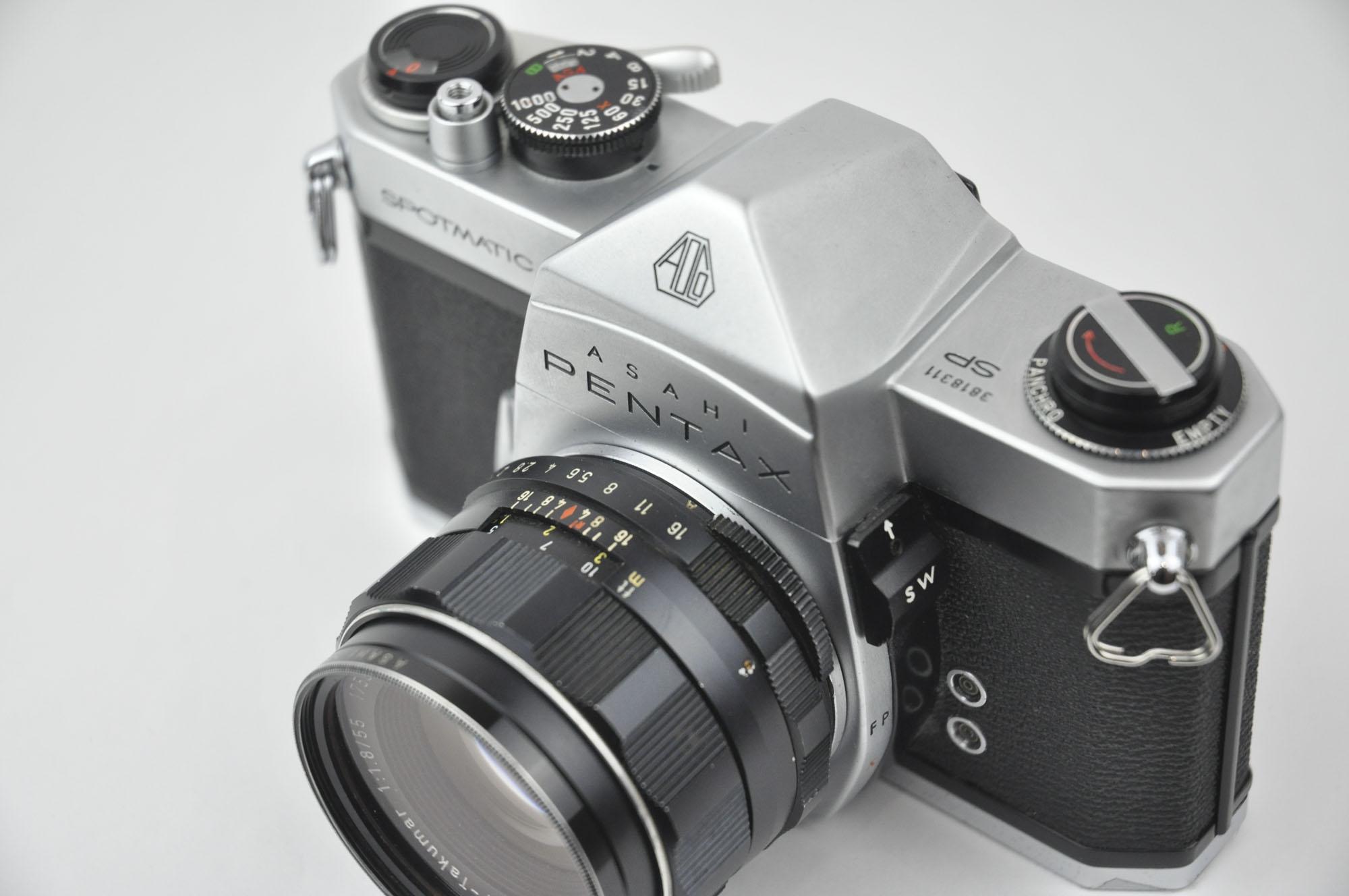 PENTAX SP + Takumar 55mm f1.8