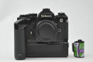 Nikon FE [ブラック]MD12付き