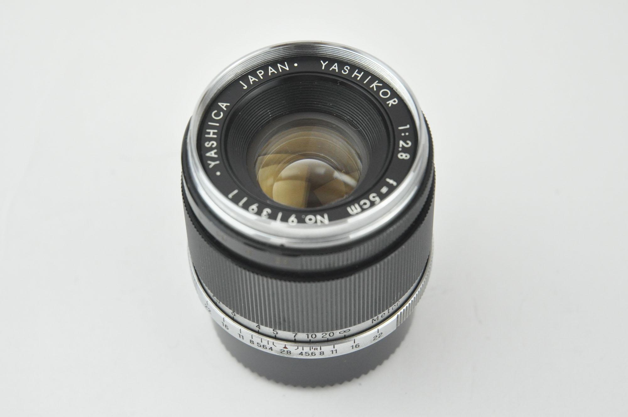 Yashica Yashikor 50mmF2.8