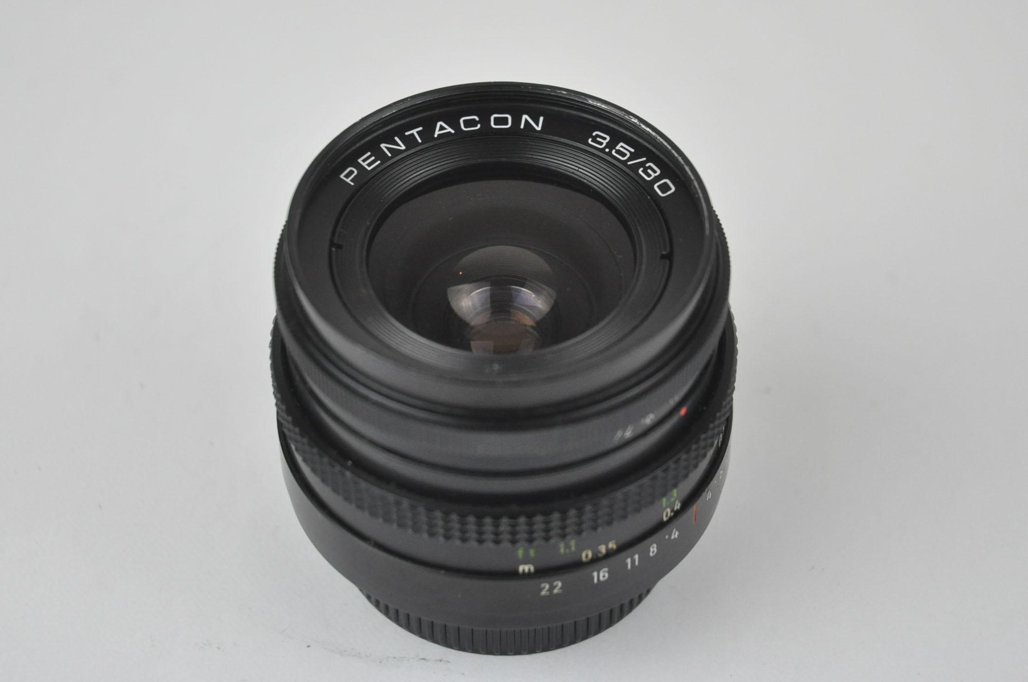 Pentacon 30mm f3.5