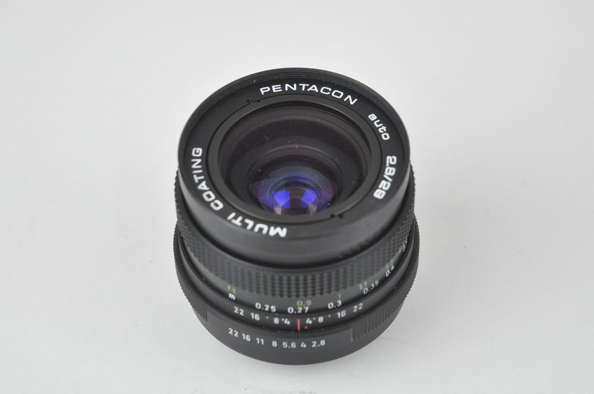 Pentacon Multi Coating 29mm f2.8