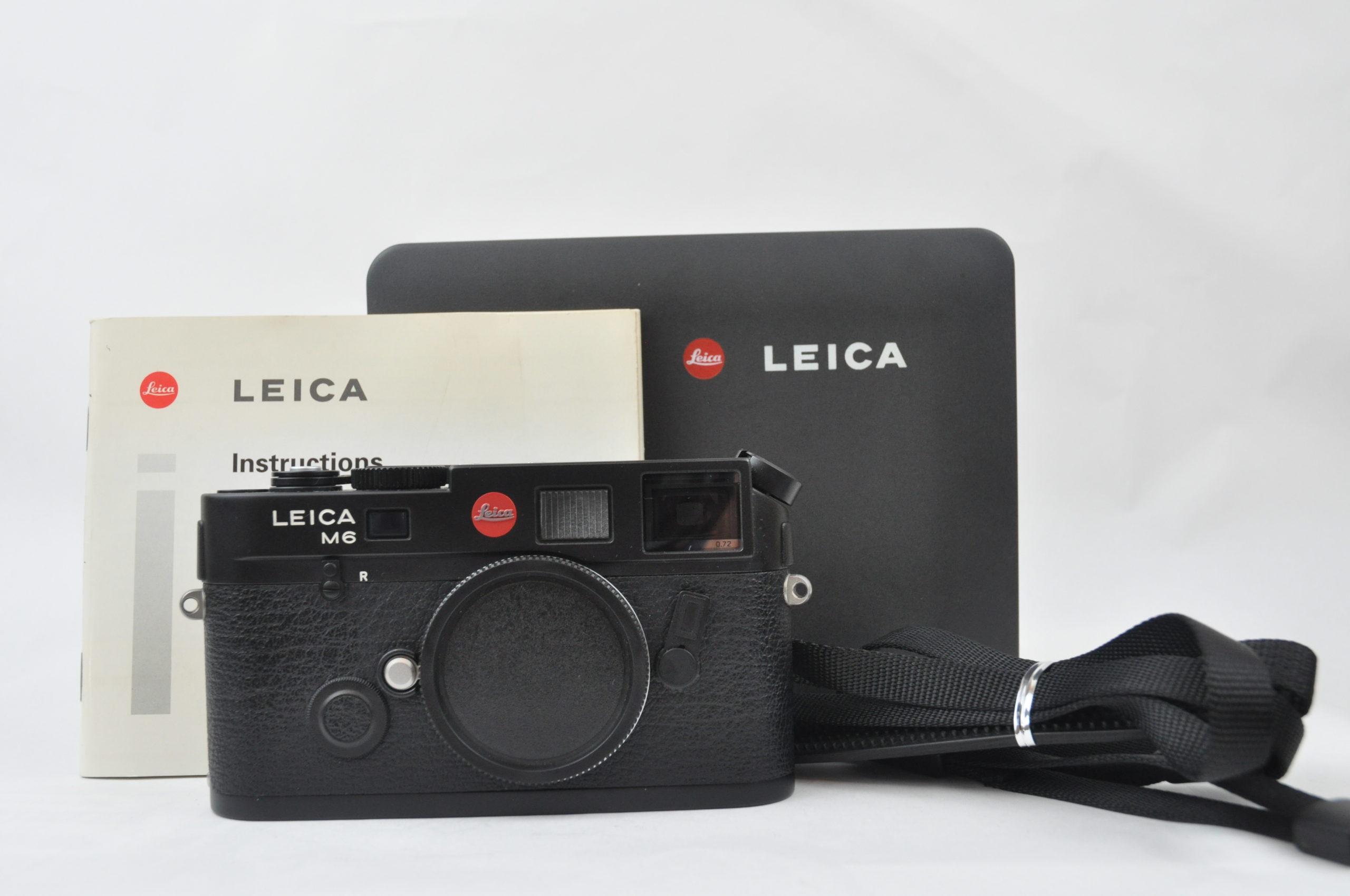 LEICA M6 TTL 0.72 ブラッククローム
