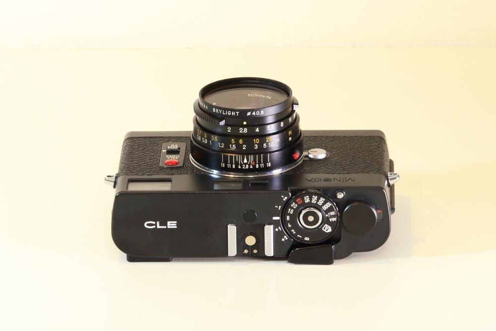 Minolta CLE / 28mm F2.8