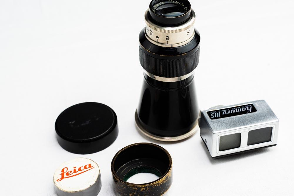 Leica Elmar 105mm F6.3