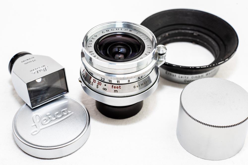 Leica SUPER-ANGULON 21mm F4