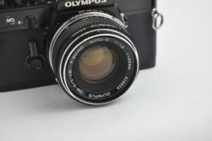 OLYMPUS OM-1 [Black] [整備済]+ZUIKO 50mm f1.8