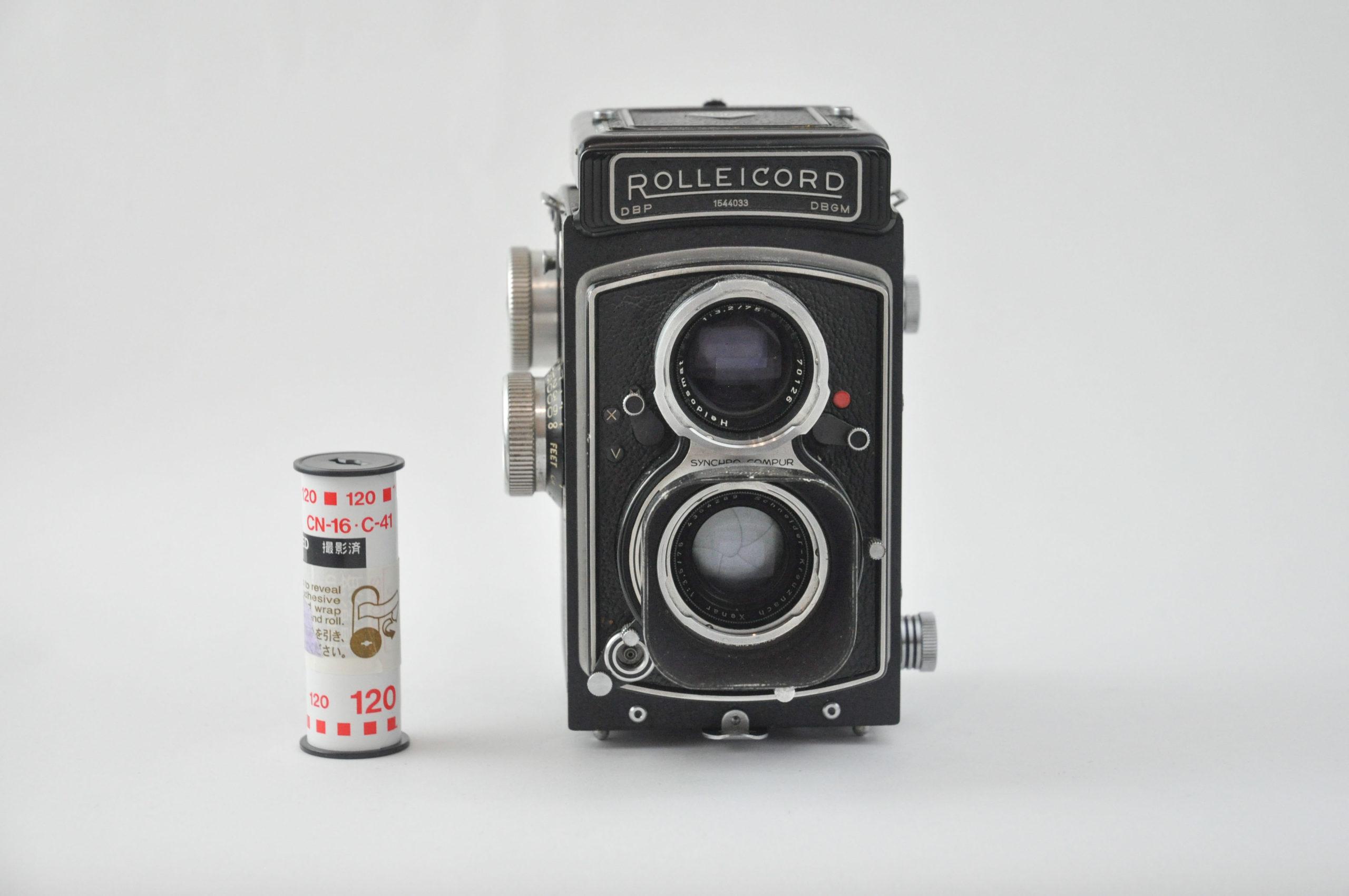 Rolleicord(Xenar 75mm f3.5)