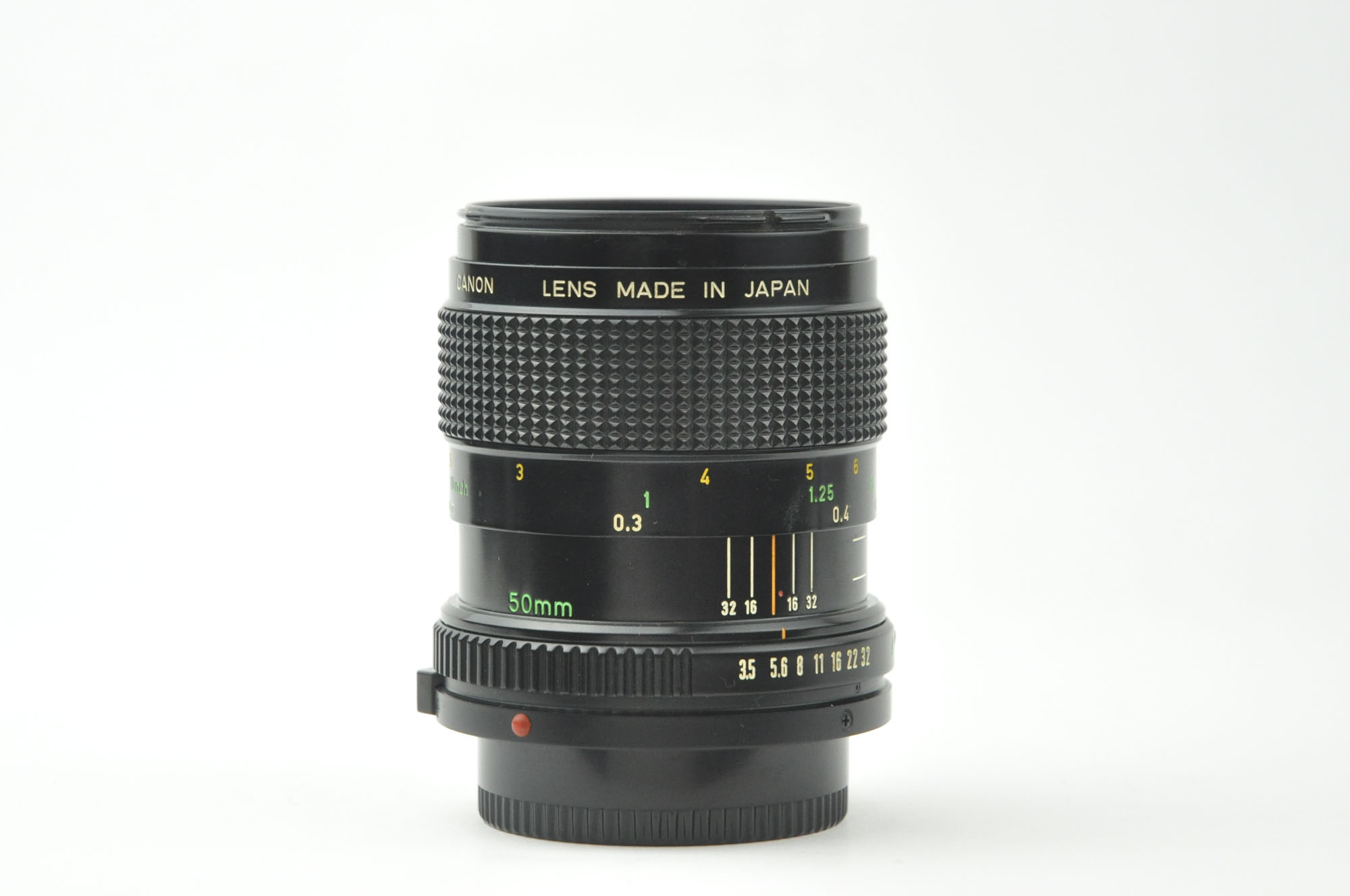 Canon macro 50mm f3.5 FD