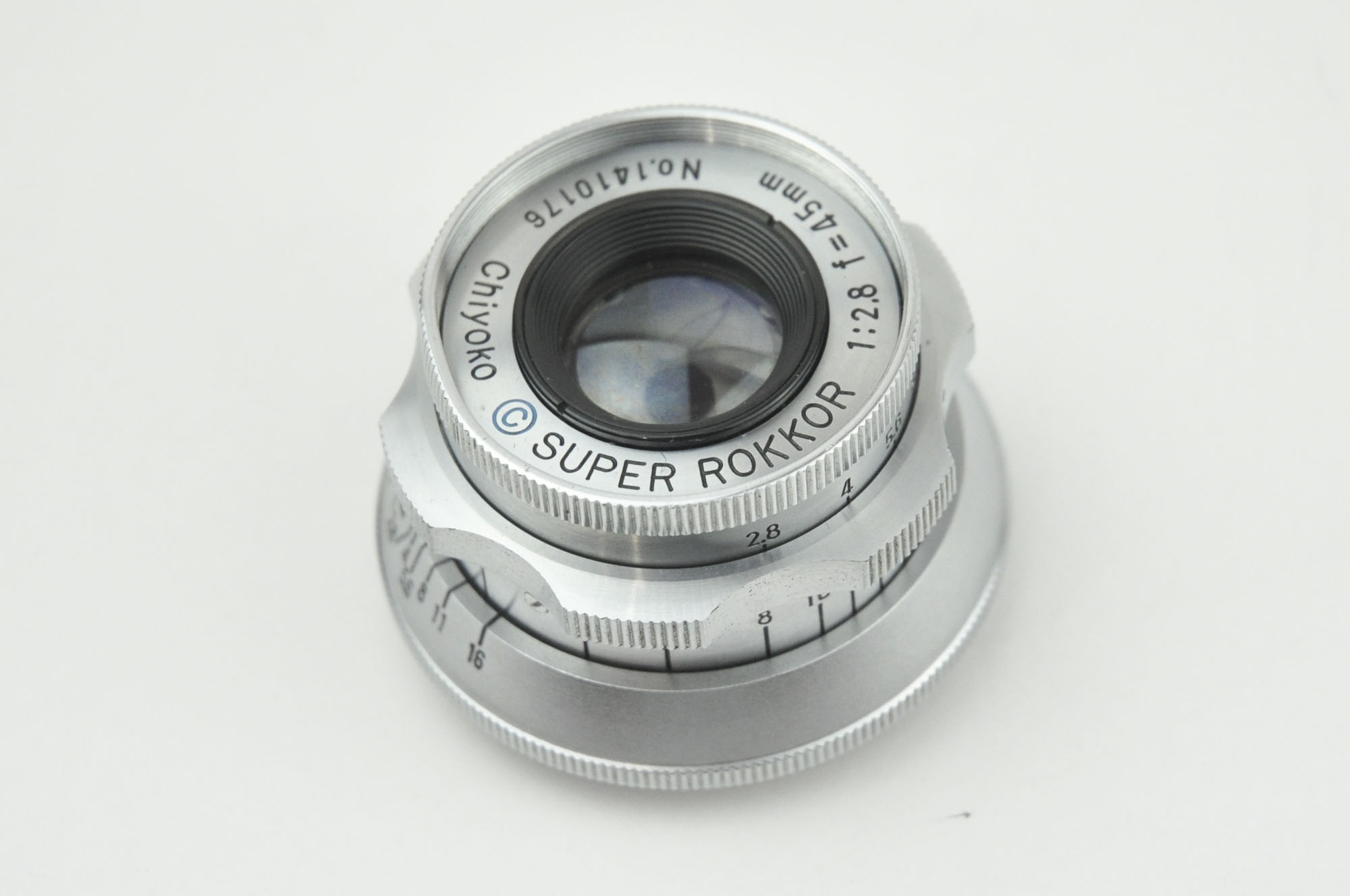 SUPER ROKKOR 45mm f1.7