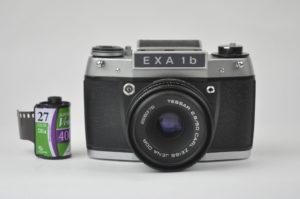 Exakta 1b + Tessar 50mm f2.8