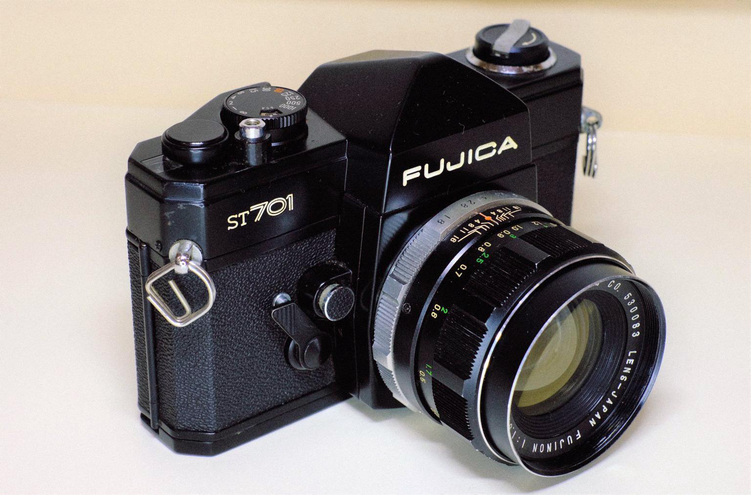 FUJICA ST701/FUJINON 55mm f1.8