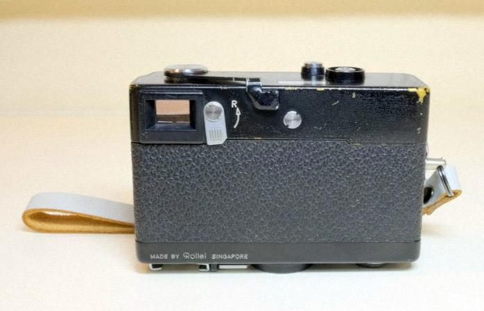 Rollei 35 S Sonnar40mm f2.8レンズ搭載モデル(整備品)